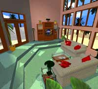 Living room decorating has the flexibility and power you need - even if you're a professional interior decorator. Add furniture and upholstery, draperies, carpet, flooring, tile, coffee and end tables, and pillows. Create sunken living rooms, great rooms, family rooms, recrooms, basements and other living spaces. Plan3D gives you the tools you need to see your ideas - whether you're a homeowner or a business manager.