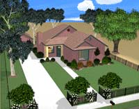 Landscaping is easy in plan3D!