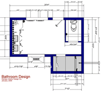 Work in 3D or Plan View with Dimensions
