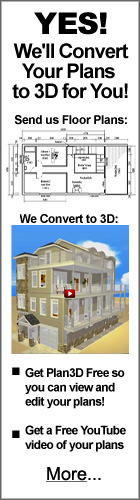 Let Us Convert Your Floor Plans To Plan3D For You